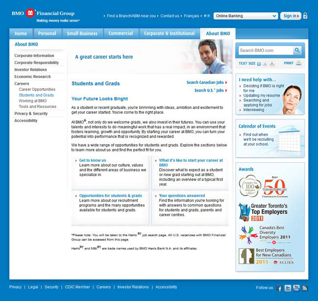 picture of Career Opportunities at BMO screenshot 1 of 2