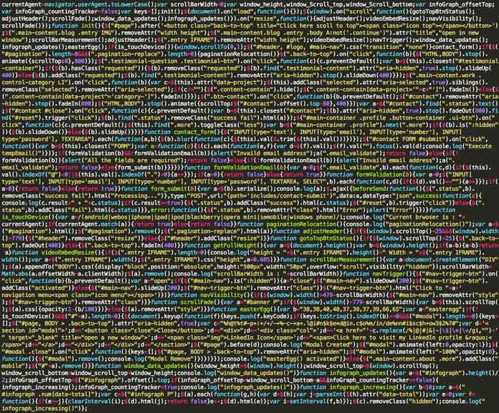 picture of This is the code of art - The Colorful Wallpaper