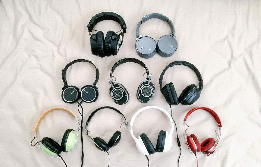 dennis's headphone collection