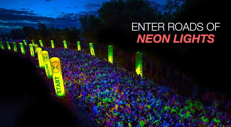 Let's hit me up. I have registered in Electric Run on this coming November