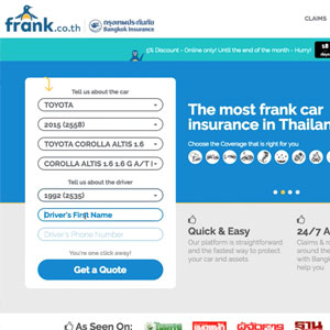Thumbnail of Frank.co.th - Online Insurance Platform
