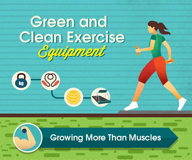picture of Green and Clean Exercise Equipment
