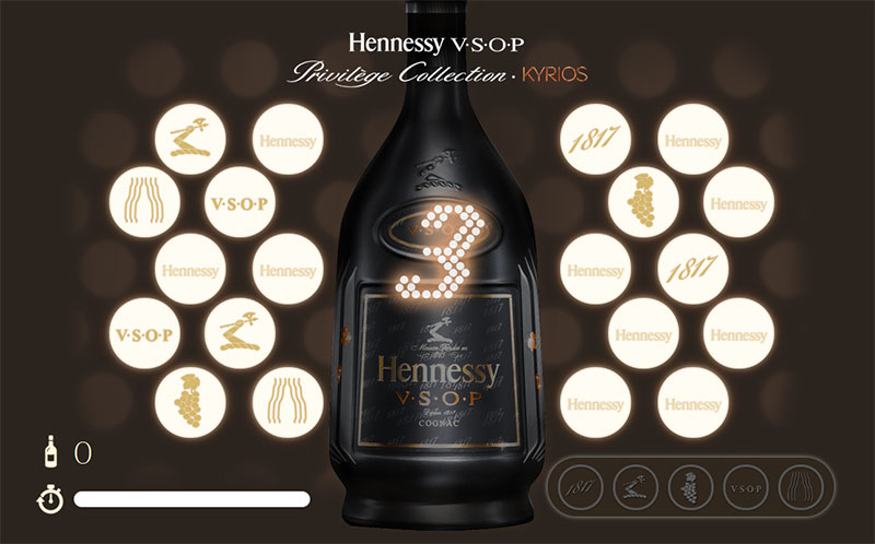 picture of Hennessy V.S.O.P Kyrios Mini Game screenshot 1 of 2
