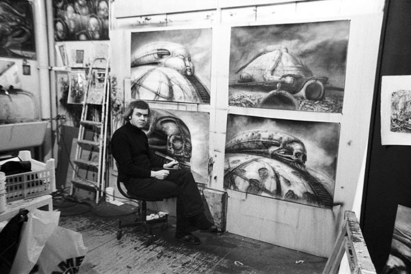 picture of H.R. Giger, Surrealist Artist and 'Alien' Designer, Dead at 74