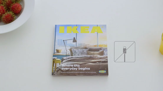 Experience The Power of a Bookbook by Ikea