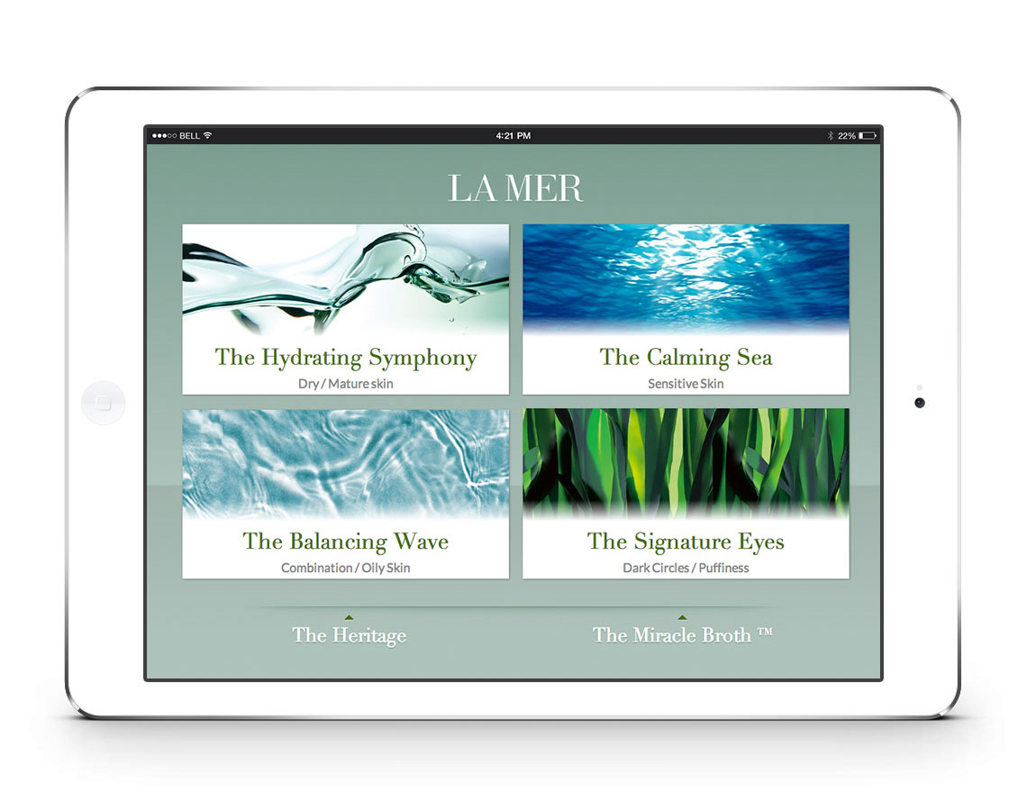 picture of La Mer iCatalog screenshot 1 of 6