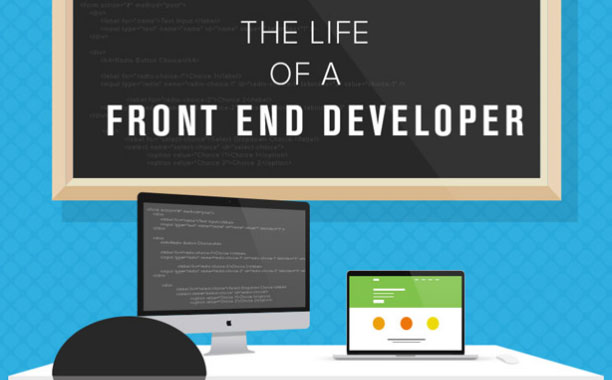 Discovered an infographic to explain what is front end web developer for who misunderstands