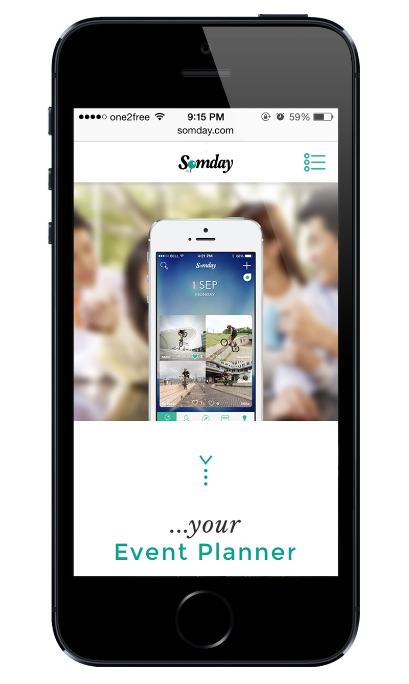 picture of Somday Promo Website screenshot 12 of 12