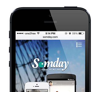 Thumbnail of Somday Promo Website