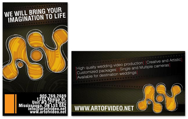 picture of Videographer Business Card screenshot 1 of 1