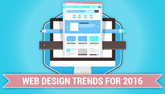 picture of web design trends in 2016